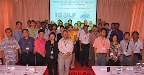 Igolf keppel club singapore golf environment forum