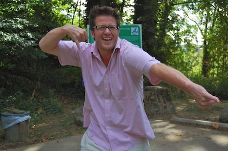 Micah at locks loop park