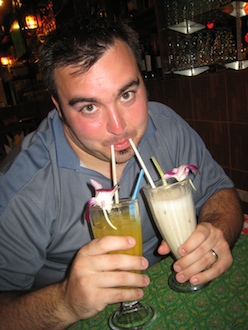 Nathan-two-drinks