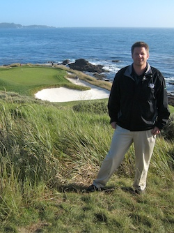 Micah woods at pebble beach